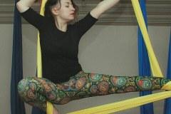 Елена Пантоха Агирре - инструктор Аэройоги в ТОТ йога-центре