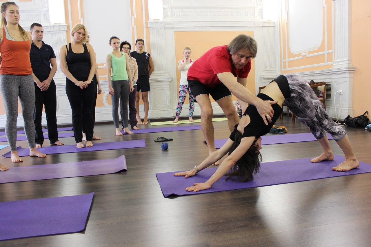 Аштанга йога в Санкт-Петербурге