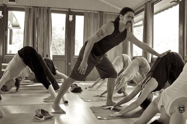 Илья Журавлев, йога, фото