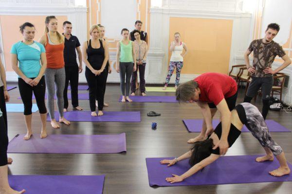 Аштанга йоге в Центральном районе СПб