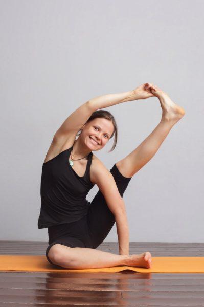 Елена Здонова, преподаватель йоги в Петербурге