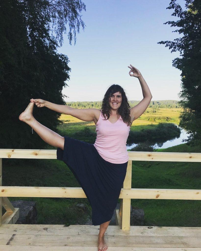 Жанна Сапрыгина, преподаватель йоги в СПб