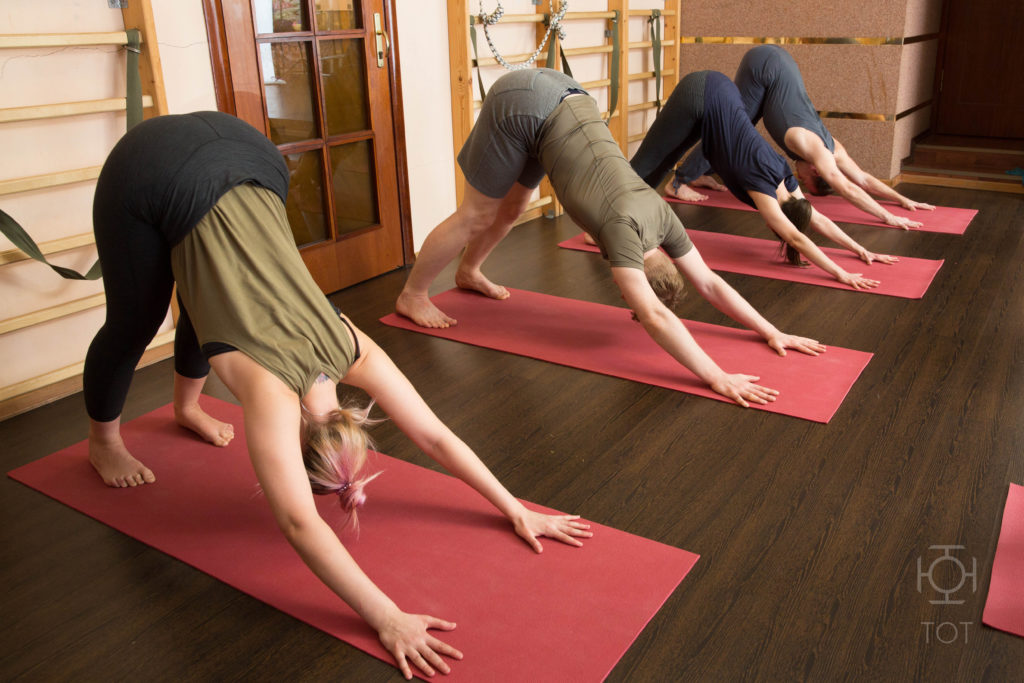 Йога для старшего возраста СПб