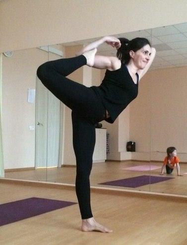 Нина Залесская, йога, фото