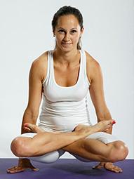 Кристина Ташланова, йога