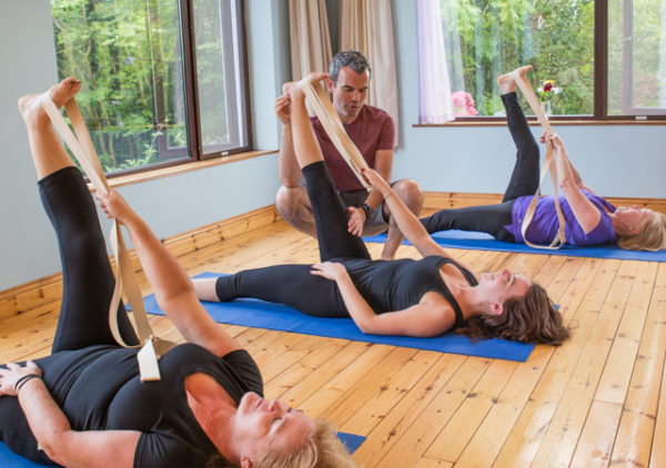 Йога айенгара совместная практика