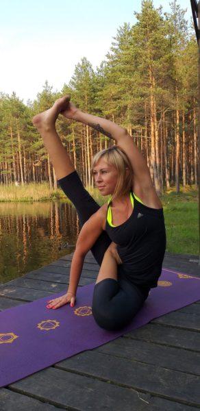 Алена Петрова йога Петербург