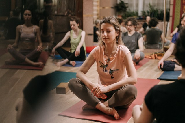 Йога-Нидра в ТОТ йога-центре СПб