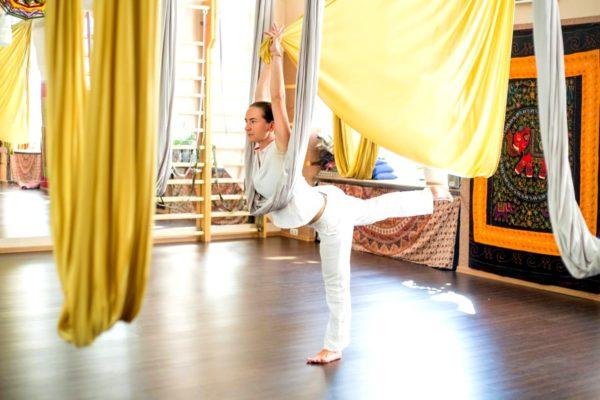 йога в гамаках в спб