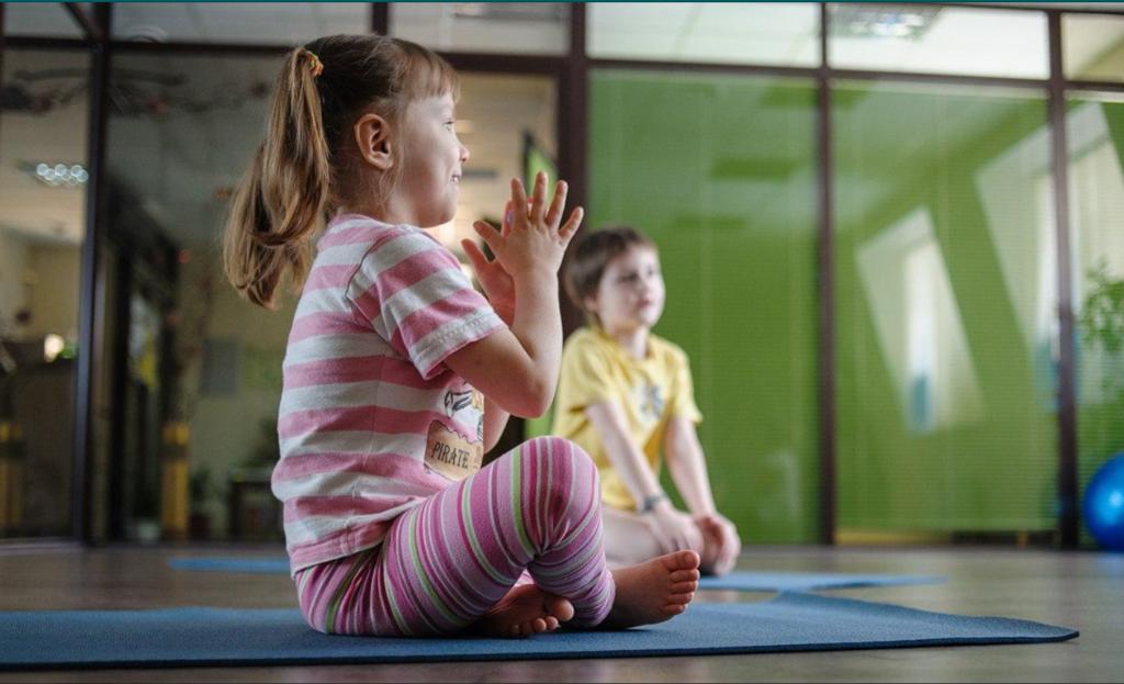 йога для детей, детская йога спб