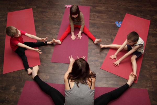 йога для детей спб